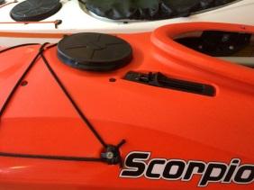 Scorpio II Deck Hatch & Skeg/Skudder Slider